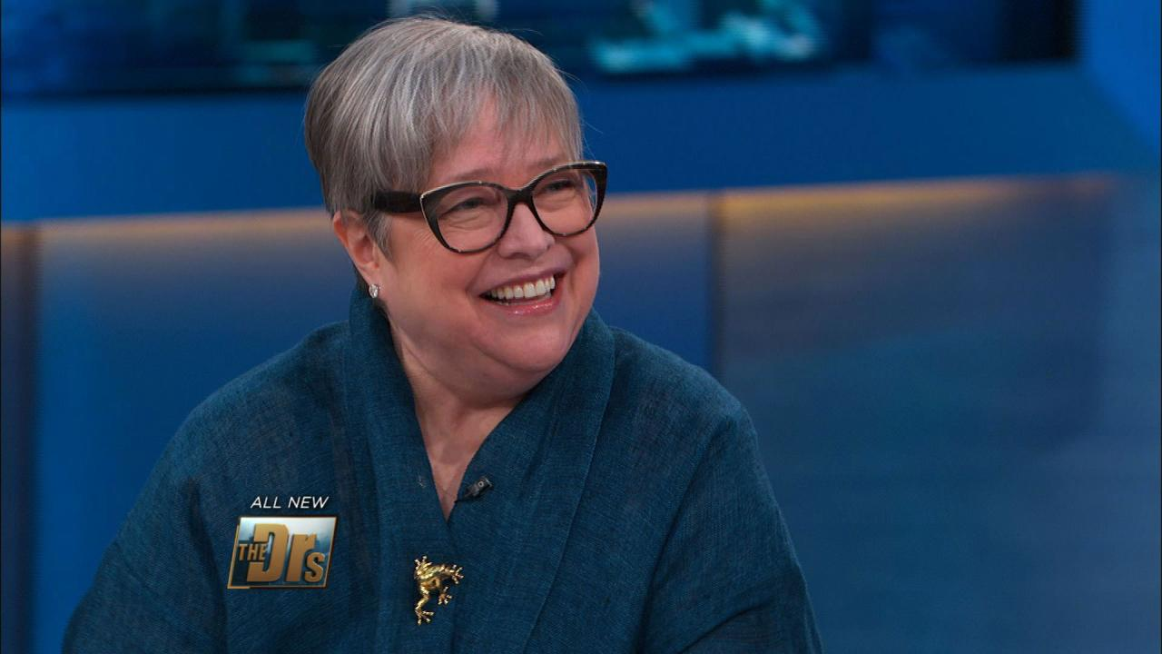 Kathy Bates on Living with Lymphedema | The Doctors TV Show