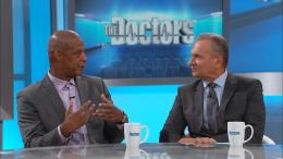 Darryl Strawberry and Dr. Andrew Ordon