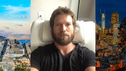 Dr. Travis Stork's bed head