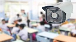 Security camera in school