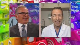 Dr. Aaron Spitz talks with Dr. Andrew Ordon via Skype