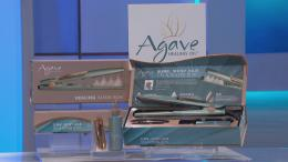 a Healing Vapor Iron Hair Tool from Agave Oil