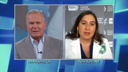 Split screen Dr. Andrew Ordon and Dr. Stephanie Goff