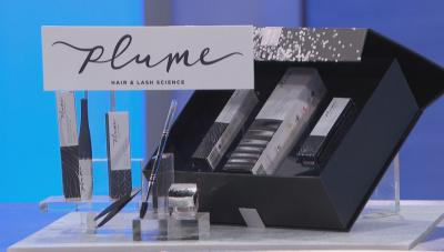 a gift bundle from Plume Hair & Lash Science