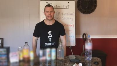 Cole Robinson, the creator of the Snake Diet.