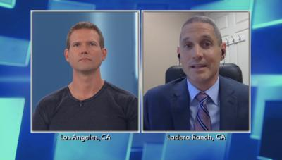 Split screen Dr. Travis and Dr. Eric Ball