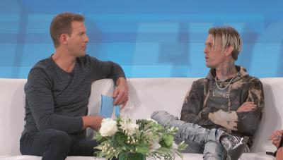 Dr. Travis Stork and Aaron Carter
